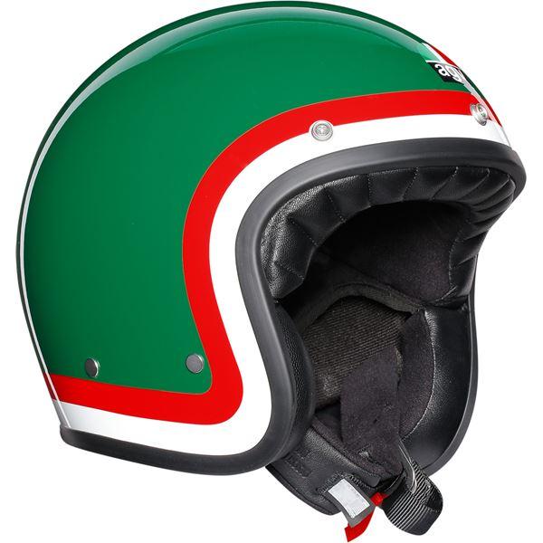 AGV X70 Pasolini Vert-Rouge-Blanc