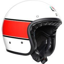 AGV X70 Mino 73 Blanc-Rouge-Noir