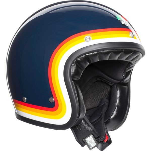 AGV X70 Riviera Blauw-Rainbow