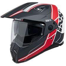 IXS iXS 208 2.0 Mat Noir - Blanc - Rouge