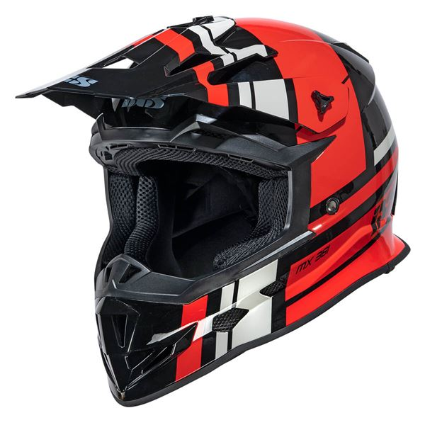 IXS iXS 361 2.3 Noir - Rouge