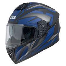 IXS iXS 216 2.1 Mat Zwart - Blauw