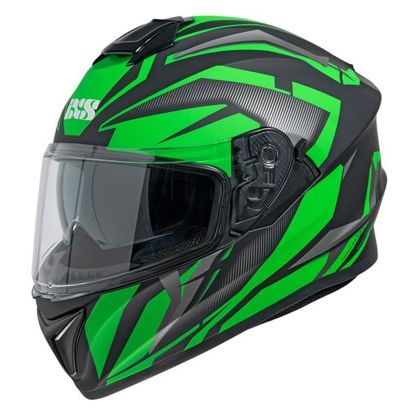 IXS iXS 216 2.1 Mat Noir - Vert