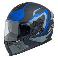 IXS iXS 1100 2.2 Mat Zwart - Blauw