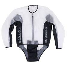 ALPINESTARS Racing Rain Jacket Transparent-Noir