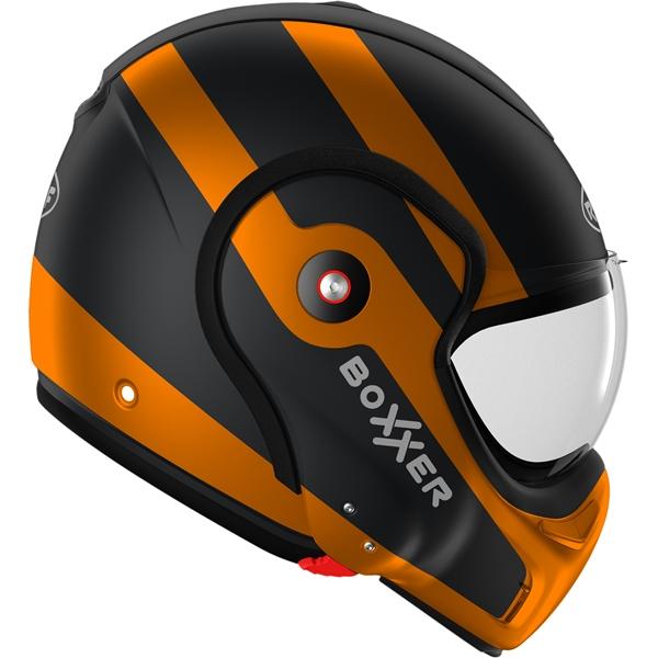 ROOF RO9 BoXXer Fuzo Mat Zwart-Oranje