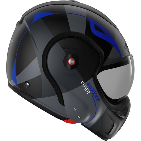 ROOF RO9 BoXXer Viper Mat Noir-Bleu