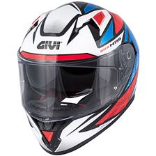 GIVI 50.6 Stoccorda Follow Blauw-Rood-Wit