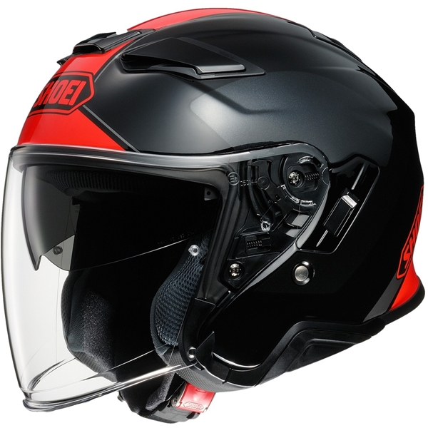 SHOEI J-Cruise II Adagio Noir-Rouge TC-1