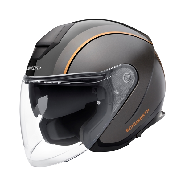 SCHUBERTH M1 Pro Outline Zwart - Grijs - Oranje
