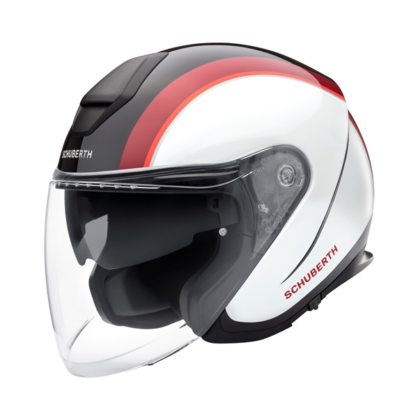 SCHUBERTH M1 Pro Outline Zwart - Wit - Rood