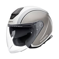 SCHUBERTH M1 Pro Outline Blanc - Gris