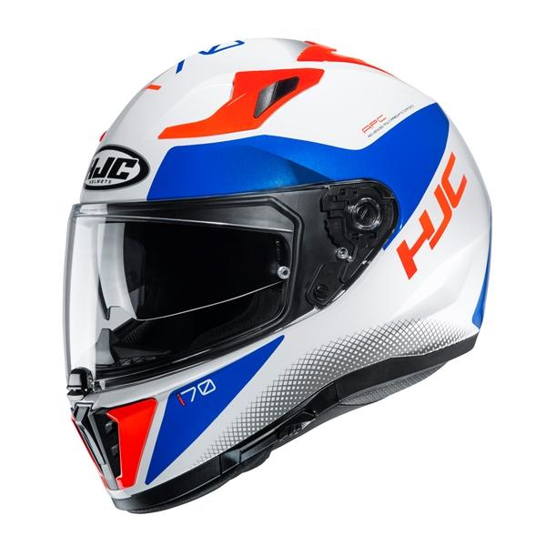 HJC I70 Tas Blanc - Bleu - Rouge