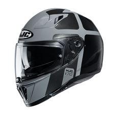 HJC I70 Prika Grijs - Zwart