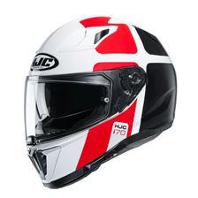 HJC I70 Prika Blanc - Noir - Rouge