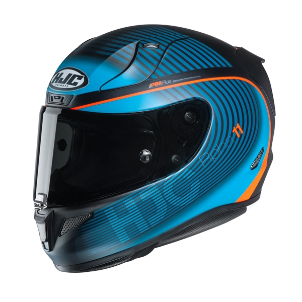 HJC RPHA-11 Bine Mat Lichtblauw - Zwart - Oranje