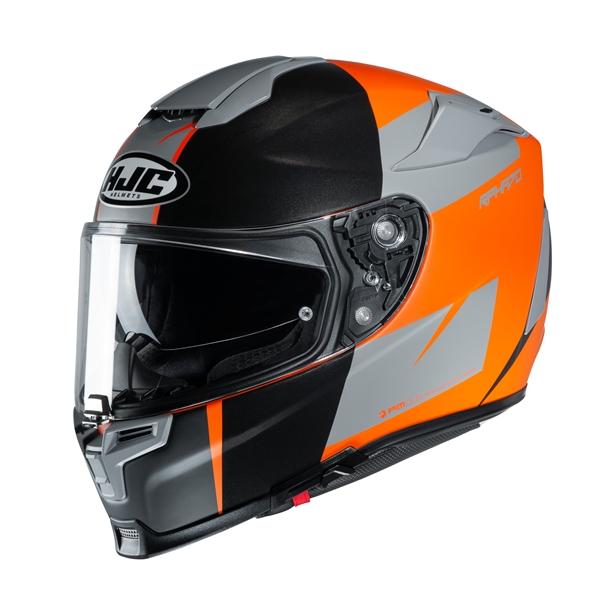 HJC RPHA-70 Terika Zwart - Grijs - Oranje