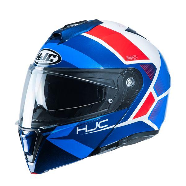 HJC I90 Hollen Blauw - Wit - Rood