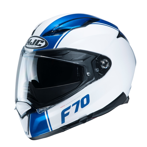 HJC F70 Mago Wit - Blauw