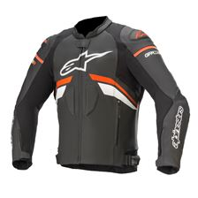 ALPINESTARS GP Plus R V3 Jacket Noir-Rouge Fluo-Blanc