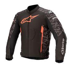 ALPINESTARS T-GP Plus R V3 Jacket Zwart-Camo-Rood Fluo
