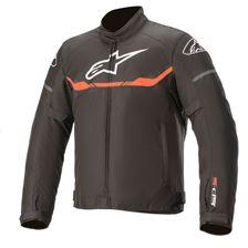 ALPINESTARS T-SPS Waterproof Jacket Zwart-Rood Fluo