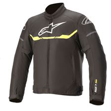 ALPINESTARS T-SPS Waterproof Jacket Zwart-Geel Fluo
