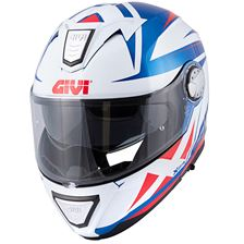 GIVI X.23 Sydney Pointed Wit-Blauw-Rood
