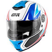 GIVI X.21 Challenger Gaphic Shiver Blanc-Bleu-Rouge