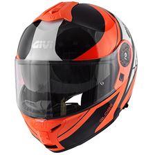 GIVI X.21 Challenger Globe Oranje-Zwart