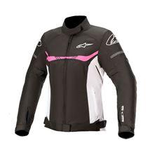 ALPINESTARS Stella T-SPS Waterproof Jacket Zwart-Wit-Fuchsia