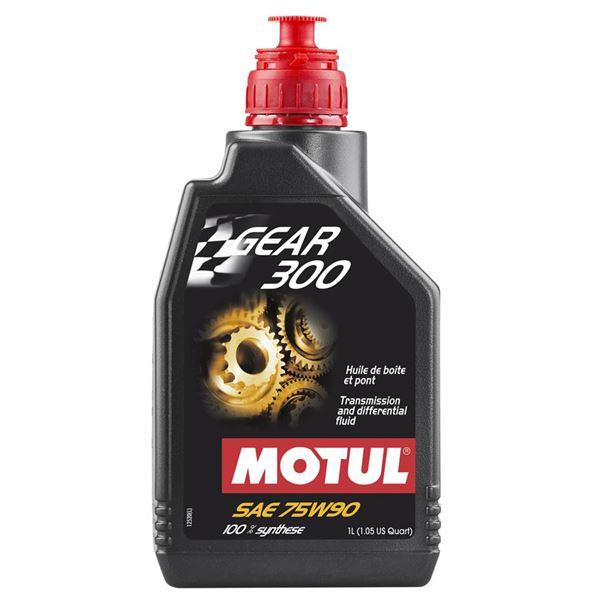 MOTUL Huile de transmission 75W90 synthétique 300 1 litre