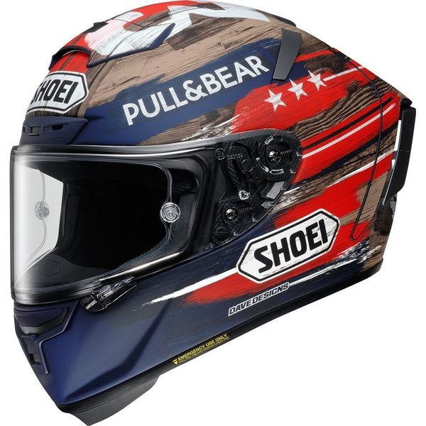 SHOEI X-Spirit III Marquez America TC-2 Limited Edition