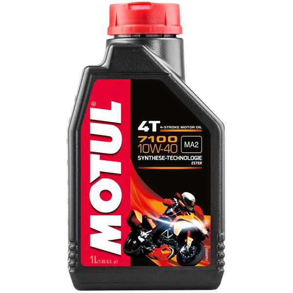 MOTUL 10W-40 synthétique 7100 1 litre