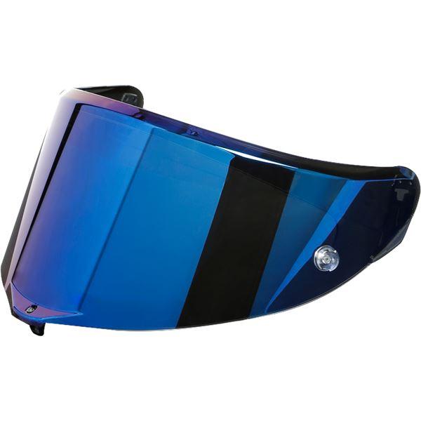 AGV Pista GP RR/GP R/R Visière Iridium bleu