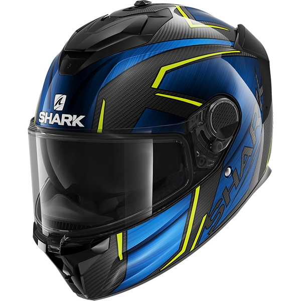 SHARK Spartan GT Carbon Kromium Carbon-Chroom-Blauw DUB