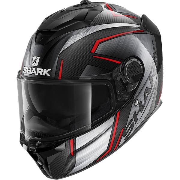 SHARK Spartan GT Carbon Kromium Carbon-Chrome-Rouge DUR