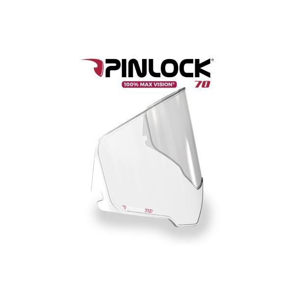 AGV AX9 Max Vision Pinlock 70 Transparant