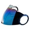AGV Orbyt visière Iridium bleu M-L-XL
