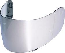 SHOEI Visières CX-1V Iridium Chrome (préparée Pinlock)