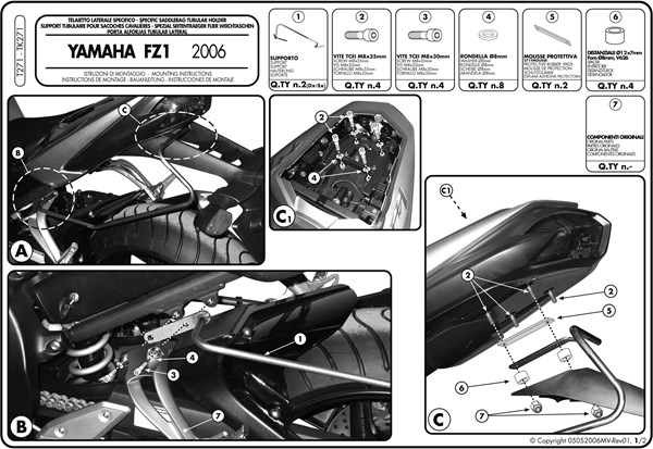 Montage instructies T271 -1