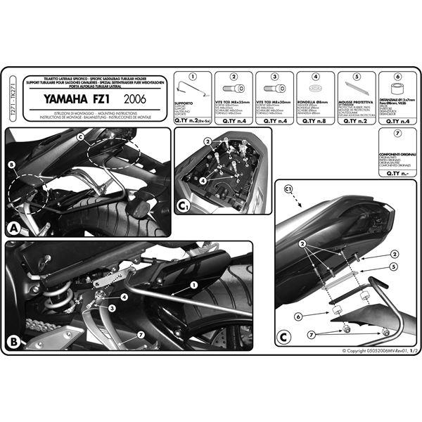 Instructions de montage T271 -1