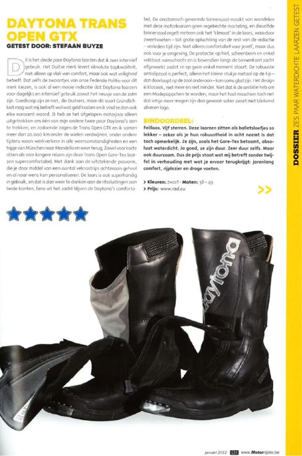 Review Motorrijder