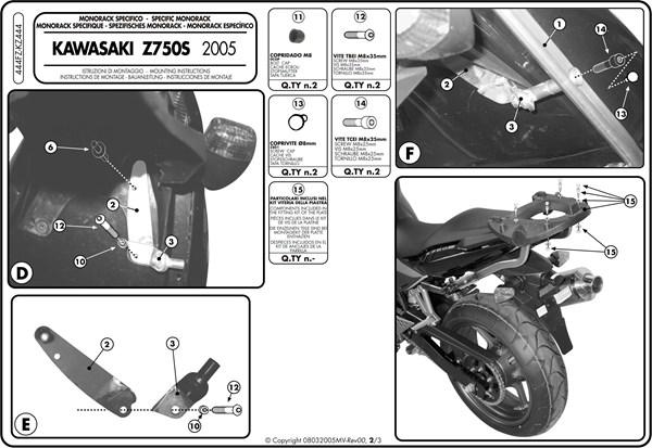 Instructions de montage 444FZ -2