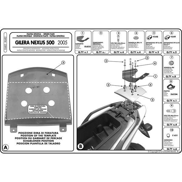Instructions de montage E682 -1