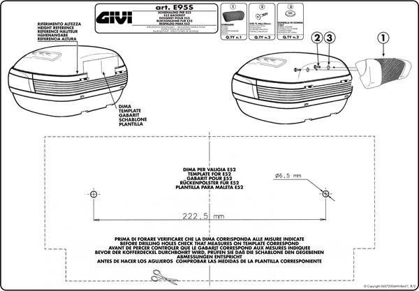 Instructions de montage E95S -1