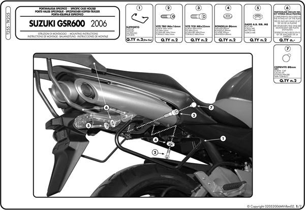 Montage instructies T255 -1