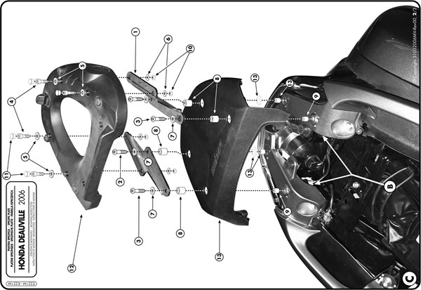 Montage instructies E221M -2