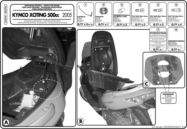 Montage instructies SR89M -1