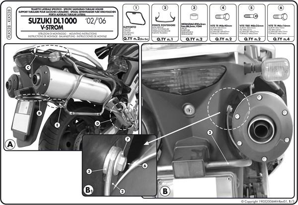 Montage instructies PLX528 -1